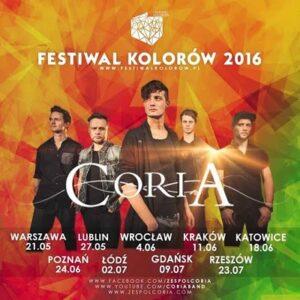 Coria – letnia trasa w ramach Festiwalu Kolorów!