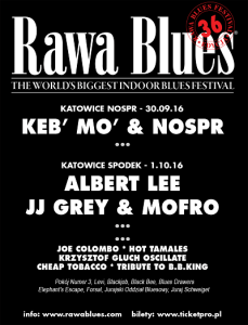 Toronzo Cannon na 36. Rawa Blues Festival!