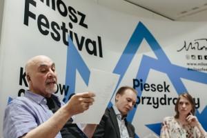 Milosz_Festival_Spotkanie_autorskie_Ashur_Etwebi_Krzysztof_Siwczyk_Renata_Senktas_fot._Michal_Ramus-3
