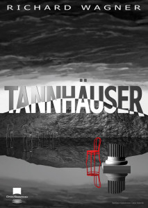 Plakat_Tannhauser. Projekt plakatu - Barbara Kędzierska i Laco Adamik