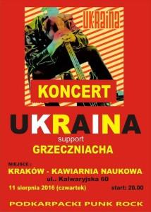 Koncert legendy punk rocka, zespół Ukraina w Krakowie