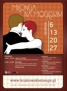 Milonga na Mogilskim_plakat
