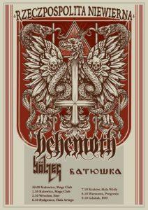 Galicja Productions - BEHEMOTH, Bolzer, Batushka