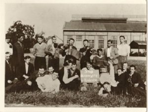 Strajk w Fabryce Zieleniewskiego, autor fot. nieznany, 1936