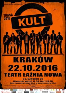 Kult w Krakowie - nowy koncert Galicja Productions