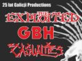 Koncert z okazji 25-lecia Galicja Productions: The Exploited, GBH i The Casualties