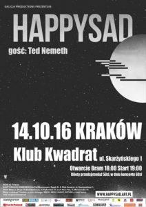 HAPPYSAD i Ted Nemeth w Krakowie