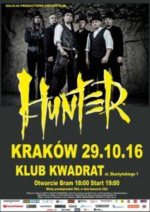 Hunter w Krakowie