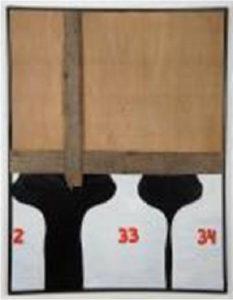 Kolejny, 1966–1967, asamblaż, 119,5 × 99 cm, courtesy J. Kozłowski