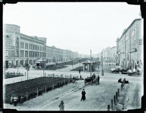 Planty Dietlowskie-fot. Natan Krieger po 1901 r. wł. MHK