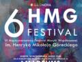 VI Międzynarodowy Festiwal Muzyki Współczesnej im. Henryka Mikołaja Góreckiego Odebrane x