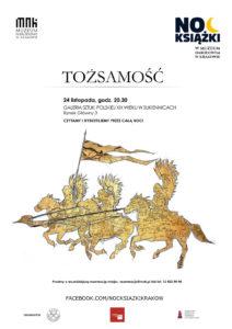 noc-ksiazki-w-muzeum-nrodowym-w-krakowie-tozsamosc-plakat
