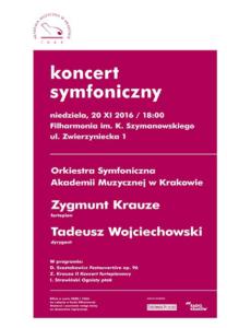 Koncert Symfoniczny w Filharmonii Krakowskiej