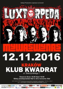 Znamy support koncertu Luxtorpeda