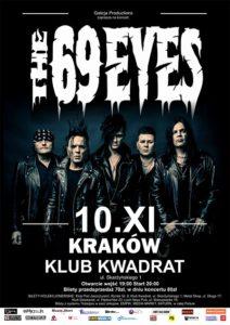 Znamy supporty krakowskiego koncertu The 69 Eyes