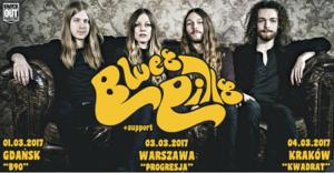 Blues Pills na trzech koncertach w Polsce