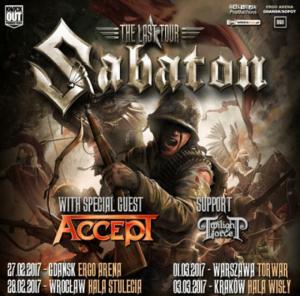 Sabaton: The Last Tour startuje za dwa tygodnie!