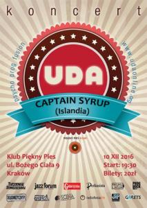 UDA i Captain Syrup w Klubie Piękny Pies