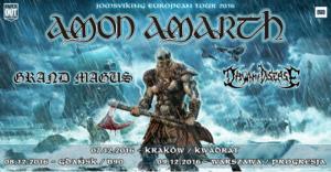 Duże zainteresowanie koncertami Amon Amarth