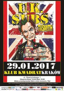 UK SUBS i TV Smith w Krakowie