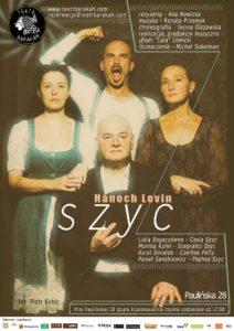 Teatr Barakah - Szyc (.plakat)