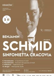 Wiedeńczycy z Sinfoniettą: Benjamin Schmid i Sinfonietta Cracovia w Sukiennicach