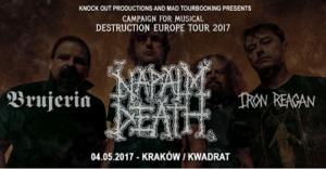 Napalm Death w Krakowie!