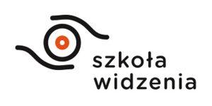 szkoła widzenia logo białe