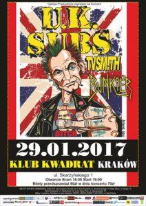 Znamy support jubileuszowego koncertu UK SUBS