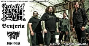 Do Napalm Death i Brujeria dołączają Power Trip oraz Mentor