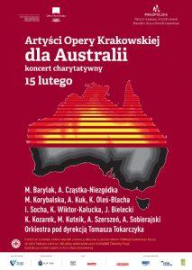 Artyści Opery Krakowskiej dla Australii